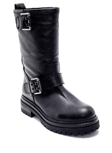 Derimod Kadın Çizme (4574) Casual Siyah